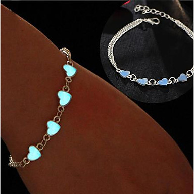 voordelige Dames Sieraden-Dames Enkelband voeten sieraden Enkelring  Sieraden Zilver Voor Bruiloft Feest Carnaval Club Reizen