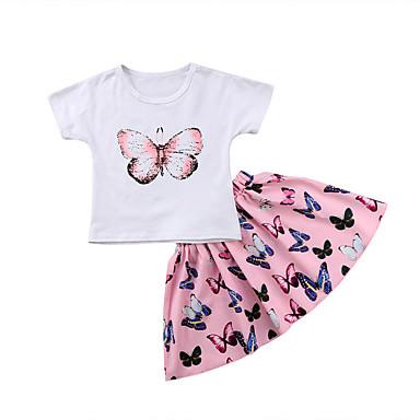 Vêtements Garçons (2-16 Ans) T-shirts, Débardeurs, Chemises Fine Coton Uni Enfants Fille Garçon Enfant T-shirt T-shirt 2-12 An