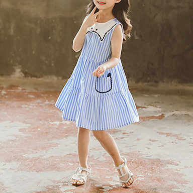 72d971c6c32 cheap Girls  039  Dresses-Kids Girls  039  Sweet   Cute Striped
