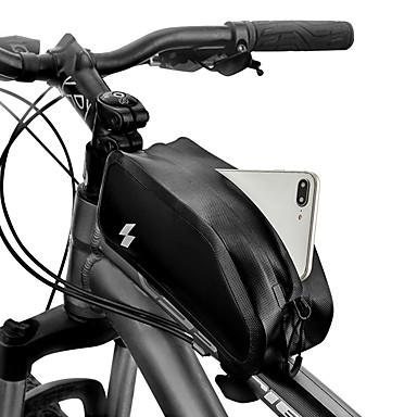 abordables Sacoches de Vélo-1 L Sac de téléphone portable Sac Cadre Velo Ecran tactile Etanche Durable Sac de Vélo Nylon 420D Sac de Cyclisme Sacoche de Vélo Samsung Galaxy S6 / Samsung Galaxy S6 edge / LG G3 Vélo de Route Vélo