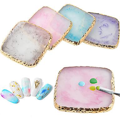 voordelige Nagelgereedschap & Apparatuur-1pc Hars Voor Vingernagel Klassiek Sieraden Series Nagel kunst Manicure pedicure Elegant Dagelijks