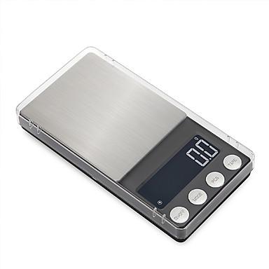 voordelige Test-, meet- & inspectieapparatuur-hoge precisie zak sieraden schalen balans 0.05g-300g draagbare digitale lab gewicht gram schaal medicinaal gebruik