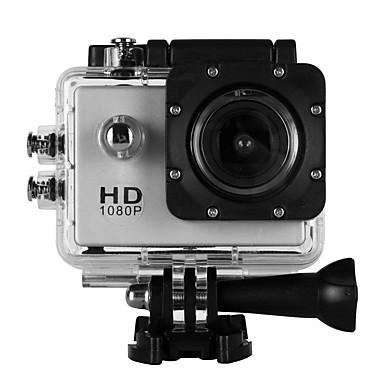 Недорогие Спортивные экшн-камеры-SJ4000B ведет видеоблог Водонепроницаемый / На открытом воздухе 32 GB 4X 2 дюймовый Один снимок 30 m