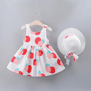 f562e01b0 cheap Baby Girls' Dresses-Baby Girls' Basic Geometric Bow