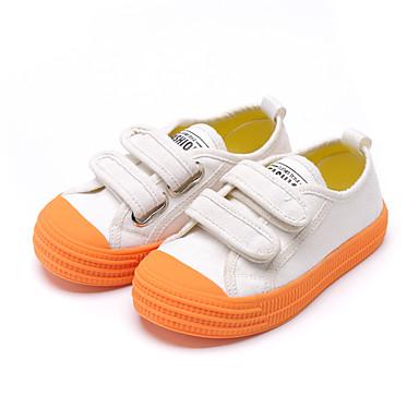 baratos Sapatos de Criança-Para Meninos / Para Meninas Lona Tênis Criança (9m-4ys) / Little Kids (4-7 anos) Conforto Azul / Rosa claro / Khaki Verão / Estampa Colorida / Borracha