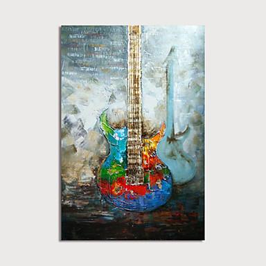 povoljno Ulja na platnu-Hang oslikana uljanim bojama Ručno oslikana - Sažetak Mrtva priroda Moderna Uključi Unutarnji okvir