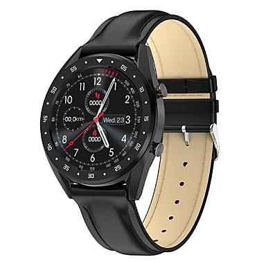 baratos Relógios Homem-L7 smartwatch ip68 pulseira de fitness à prova d 'água rastreador relógio de pulso ecg monitor de freqüência cardíaca chamada lembrete relógio inteligente