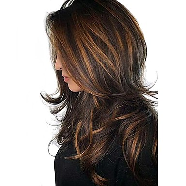 Dark Brown Gold Blonde Ombre Wigs Hair Pieces Search Lightinthebox