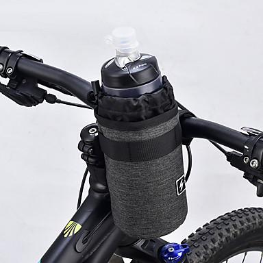 billige Sykkelvesker-0.65 L Vesker til sykkelstyre Bærbar varmelagrende Holdbar Sykkelveske Klede 300D Polyester Sykkelveske Sykkelveske Sykling Vei Sykkel Fjellsykkel Utendørs