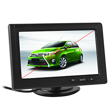 Muzili MZ43X 4,3-дюймовый цветной TFT LCD 480 x 272 автомобиля монитор заднего вида автомобиля авто автомобиль заднего обзора заднего парковки для камеры DVD VCD