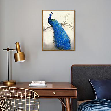 דפוס אומנות ממוסגרת סט ממוסגר - חיות פוליסטירן ציור שמן וול ארט
