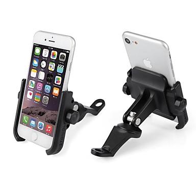 voordelige Auto-interieur accessoires-aluminium motorfiets telefoon houder mobiele telefoon gps mount houder telefoon ondersteuning beugel mount