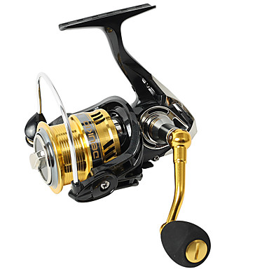 cheap Fishing Reels-Fishing Reel Spinning Reel 6.7:1 Gear Ratio+6 Ball Bearings Hand Orientation Exchangable Spinning / General Fishing