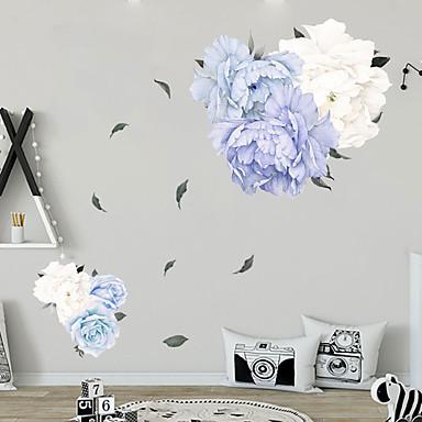 פרחים טריים מדבקות קיר - מילים& ציטוטים ampamp קיר מדבקות תווים חדר לימוד / משרד / חדר אוכל / מטבח