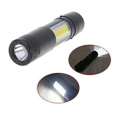 abordables Éclairage Extérieur-lumière de vélo ultra-lumineux zoomable 240 lumen lampe de vélo rechargeable usb cyclisme avant led lampes de poche lampe