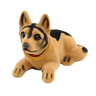 voordelige Auto-interieur accessoires-bobble head dogs bobbing heads auto dash ornaments puppy voor auto voertuig