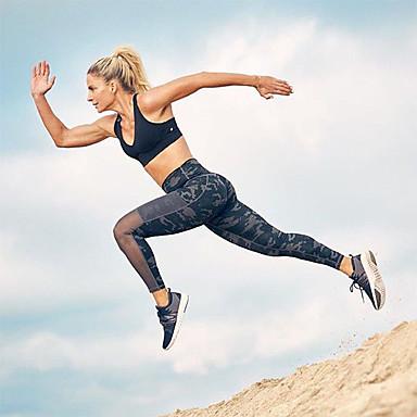 בגדי ריקוד נשים מכנסי יוגה להסוות כושר אמון תחתיות לבוש אקטיבי רך מיקרו-אלסטי רזה