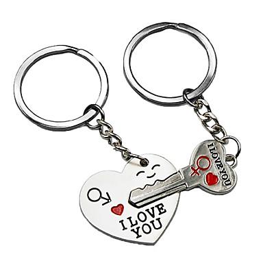 رخيصةأون اكسسوارات السيارات الداخلية-مفتاح فخر العالم لقلبي لطيف زوجين المفاتيح الحب حلقة رئيسية المفاتيح