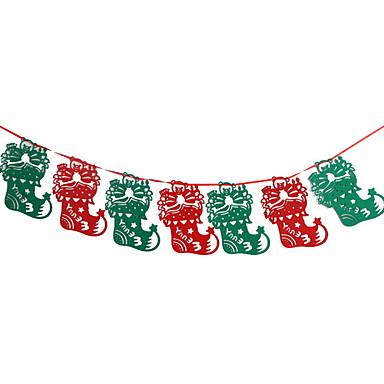 קישוטים לחג חגים ומועדים חפצים דקורטיביים Party אדום 1pc