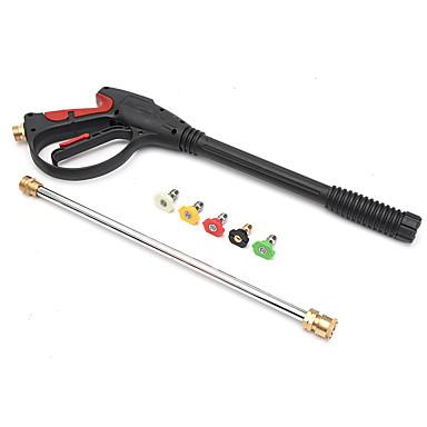 мойка высокого давления газовый пистолет для чистки автомобиля комплект насадок / палочек и 5 распылительных насадок 4000 фунтов / кв. дюйм