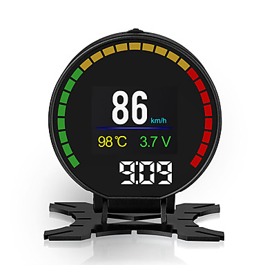 HUD автомобиль голова дисплей двигатели цифровые проекторы прибор измеритель скорости p15