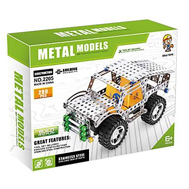 voordelige 3D-puzzels-Speelgoedauto's Metalen puzzels Educatief speelgoed Vrachtwagen verenigbaar Legoing Cool SUV Unisex Jongens Speeltjes Geschenk
