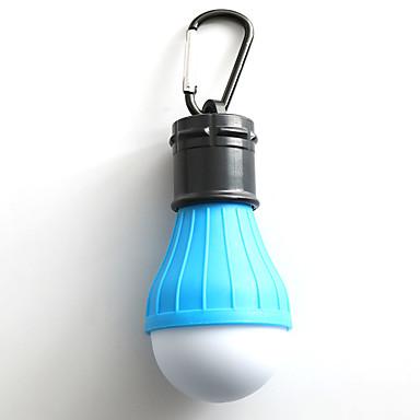 billige Lommelykter & campinglykter-LED Lyspærer LED LED emittere Manual lys tilstand LED Reise Størrelse Camping / Vandring / Grotte Udforskning Grønn Gul Rød