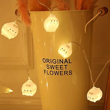 3m החיה מחרוזת האורות 20 מדים חם לבן חג מסיבת השינה דקורטיביים 5 v 1 סט