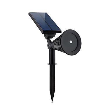 1pc 2 W אורות דשא עמיד במים / סולרי / דקורטיבי צבעוני 3.7 V תאורת חוץ / חָצֵר / גן 1 LED חרוזים