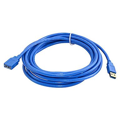Недорогие USB кабели-3 м быстрая скорость USB 3.0 удлинительный кабель USB-кабель между мужчинами и женщинами кабель синхронизации данных