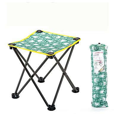 رخيصةأون مفروشات التخييم-كرسي مقعد للتخييم في الهواء الطلق السفر سبائك الصلب نايلون أكسفورد إلى 1 شخص شاطئ تخييم أحمر أخضر