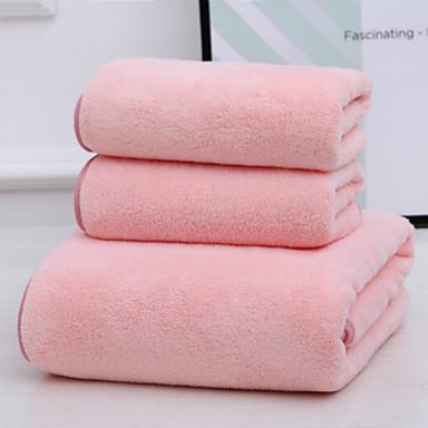 איכות מעולה סט מגבות אמבטיה, אחיד 100% פליס אלמוג 1 pcs