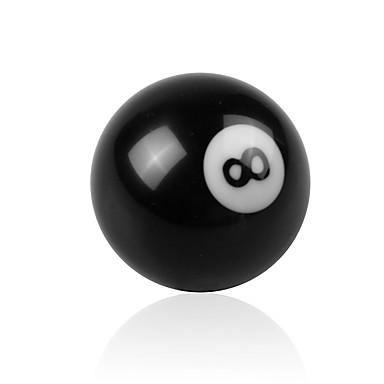 voordelige Auto-interieur accessoires-creatieve zwarte 8-ballenschakelaar voor handmatige versnellingspook universele auto