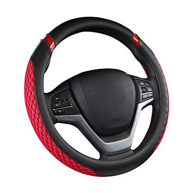 povoljno Automoto-navlake na upravljaču umjetna koža / guma / tekstil 38cm crna / plava / crna / krem / crna / crvena za univerzalne motore svih godina