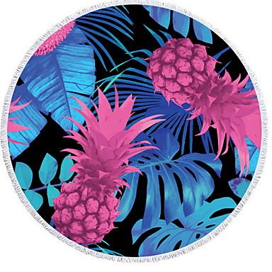 איכות מעולה מגבת חוף, פרחוני  בוטני 100% סיב מיקרו 2 pcs