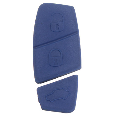 voordelige Auto-interieur accessoires-3 knoppen vervangende externe sleutel shell knop pad voor fiat punto panda stilo