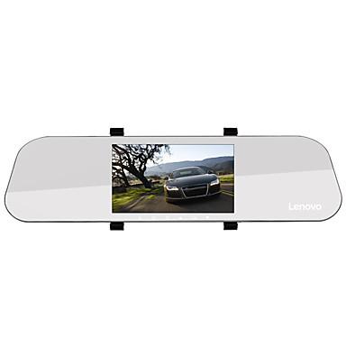 abordables DVR de Voiture-Lenovo HR02 1080p Full HD / avec caméra arrière / Enregistrement automatique de démarrage DVR de voiture 170 Degrés Grand angle 5 pouce IPS Dash Cam avec Vision nocturne / G-Sensor / Mode Parking