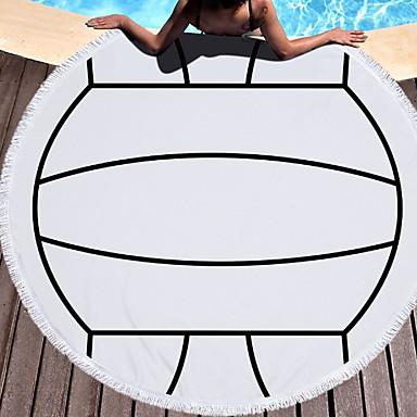 איכות מעולה מגבת חוף, אחיד 100% פוליאסטר 1 pcs
