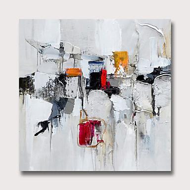 ציור שמן צבוע-Hang מצויר ביד - מופשט מודרני ללא מסגרת פנימית