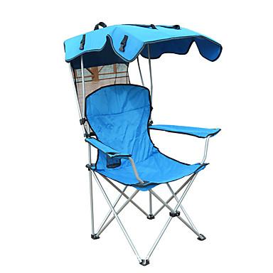 povoljno Namještaj za kampiranje-Kamperska sklopiva stolica s držačem čaša Prijenosno Anti-Slip Može se sklopiti Udobnost Čelična cijev Oksford za 1 osoba Kampiranje Kampiranje / planinarenje / Speleologija Putovanje Piknik Pasti