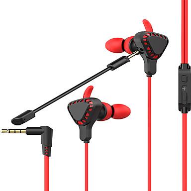 litbest t8 kulak içi oyun kulaklık kulaklık kablolu oyun stereo