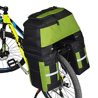 abordables Sacoches de Vélo-FJQXZ 70 L Sac de Porte-Bagage / Double Sacoche de Vélo Sacs de Porte-Bagage 3 en 1 Grande Capacité Etanche Sac de Vélo 1680D Polyester Sac de Cyclisme Sacoche de Vélo Cyclisme / Vélo