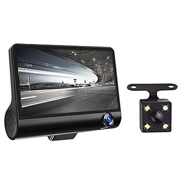 abordables DVR de Voiture-4 1080p hd 170 3 lentilles voiture dvr dash cam g-capteur enregistreur caméra de recul
