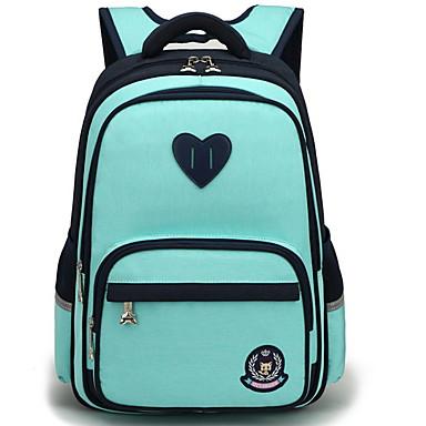 povoljno Dječje torbe-Dječaci / Djevojčice Patent-zatvarač ruksak Velika zapremnina Oxford tkanje Blushing Pink / Crvena / Svijetlo zelena