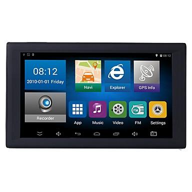 voordelige Automatisch Electronica-9 inch android auto dvr gps-navigatiesysteem av-in ondersteuning achteruitrijcamera 1 gb / 16 gb tablet met gratis kaarten