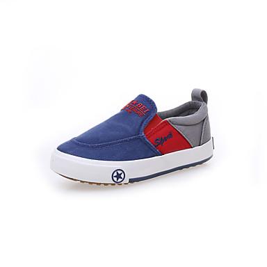 baratos Sapatos de Criança-Para Meninos / Para Meninas Lona Mocassins e Slip-Ons Criança (9m-4ys) / Little Kids (4-7 anos) Conforto Verde / Azul Primavera / Verão