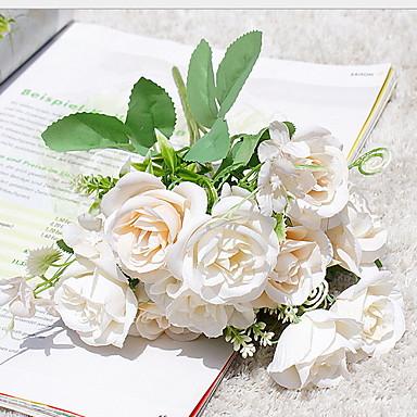 Искусственные Цветы 1 Филиал Классический Современный современный Вечные цветы Букеты на стол