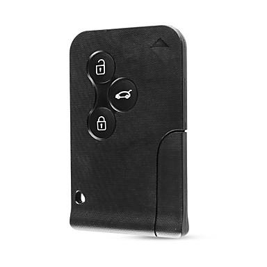 voordelige Auto-interieur accessoires-3-knops smartcard met sleutel voor renault clio logan megane