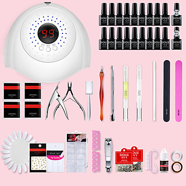 Plastik Yapay Nail İpuçları Uyumluluk Parmak Tırnağı En iyi kalite / Yaratıcı / Yenilikçi Beyaz dizi tırnak sanatı Manikür pedikür Moda Günlük