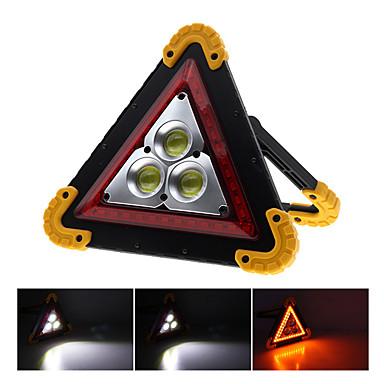 abordables Éclairage Extérieur-2pcs 50w cob lumière d'inondation lumière de voiture portable portable triangle avertissement lumière usb charge lumière d'inondation